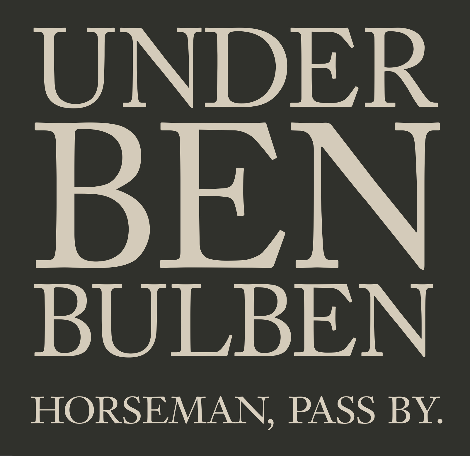 Horseman, Pass By. - Under Bulben Ben